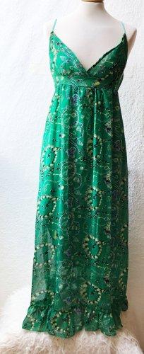 Empire Dress green viscose