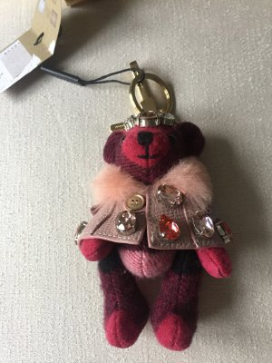 Burberry Key Chain purple-light pink
