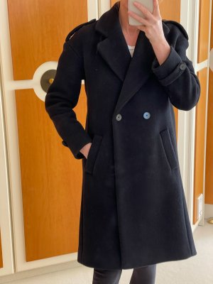 di Sandro Wool Coat black
