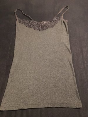 Vero Moda Lace Top grey