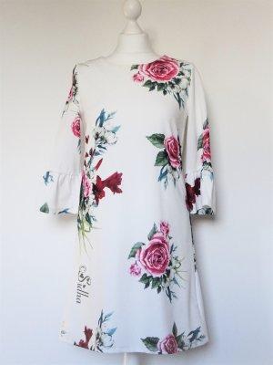Ein Traum in Weiß * Kleid * Flower print * NEU