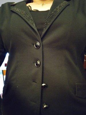 Tredy Blazer in jersey nero Cotone