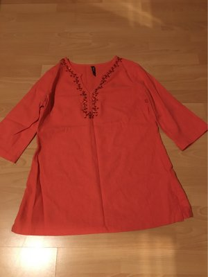 Flame Tunique-blouse orange