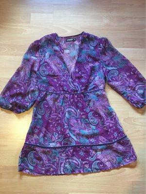 24 colours Blusa de túnica multicolor