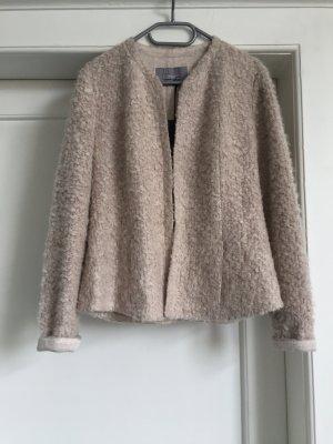 Riani Giacca di lana crema Lana