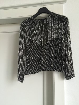 Armani Collezioni Veste noir-argenté