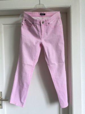 Cambio Jeansy z prostymi nogawkami jasny różowy