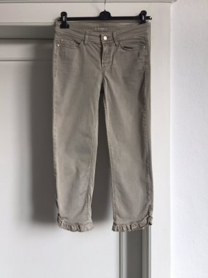 Cambio 7/8 Length Jeans sage green