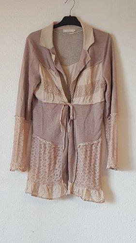 eine leichte sommerjacke von Cream, Gr. XL, rosa-nudetöne