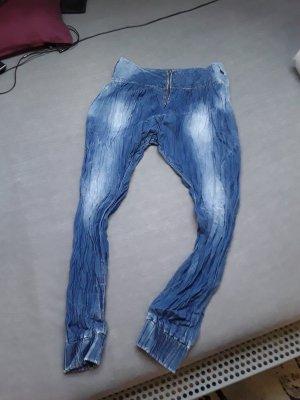 Rainbow Boyfriend Jeans azure