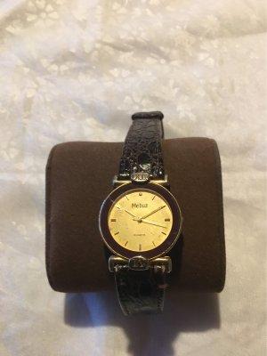 Galeria kaufhof Montre avec bracelet en cuir brun