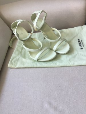 Burberry Strapped Sandals pale green