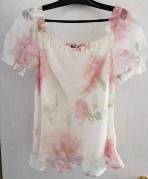 Escada Blusa in seta bianco sporco-rosa pallido