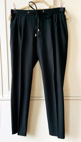 Zara Woman Pantalon en jersey noir