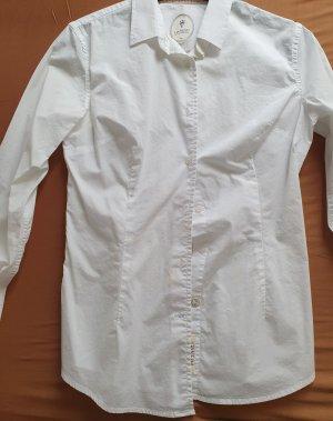 Ganesh Camicetta a maniche lunghe bianco Cotone
