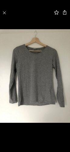 Jersey largo gris-azul oscuro