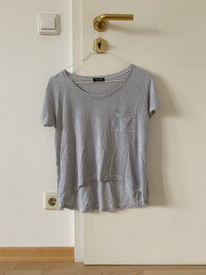 Einfaches hellgraues T-Shirt von Topshop