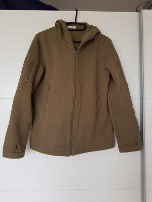 Einfarbige Jacke