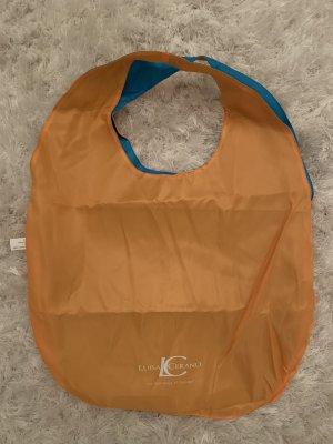 Luisa Cerano Burlap Bag orange-turquoise