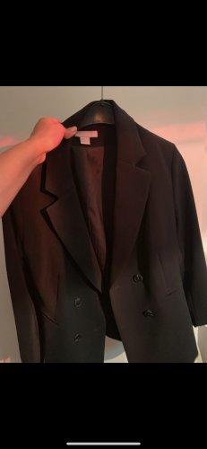 Einmal getragener schwarzer Blazer Gr 44