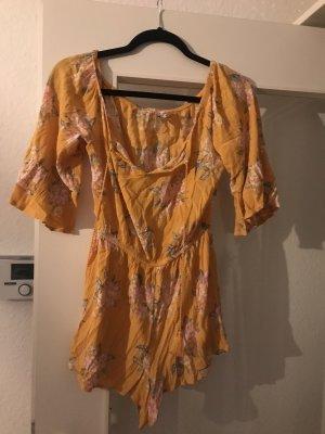 Hennes Collection by H&M Capo da spiaggia arancione chiaro-giallo