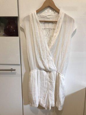 Einteiler / Overall in Gr.38/M von Zara in Weiß / Crem .