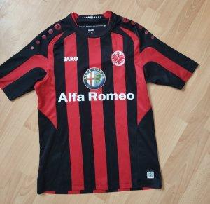 Jako T-shirt de sport noir-rouge brique