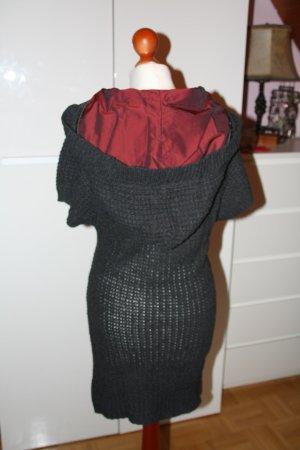 Lavand Abito di maglia antracite-carminio
