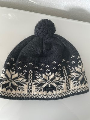 Eisbär Knitted Hat grey-white