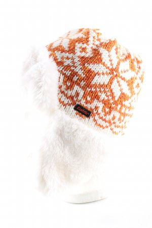 Eisbär Lapland Hat natural white-light orange graphic pattern casual look