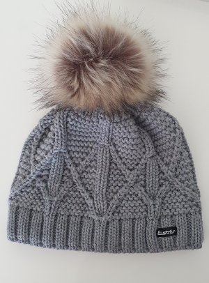 Eisbär Chapeau en tricot gris