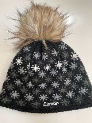 Eisbär Bobble Hat black-white