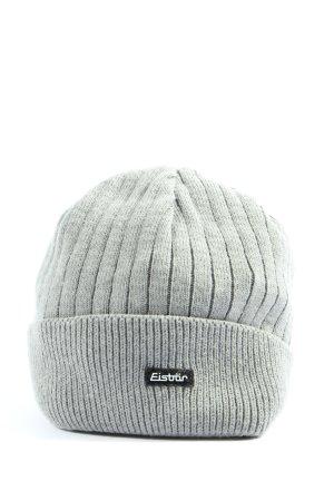 Eisbär Knitted Hat light grey casual look