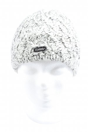 Eisbär Knitted Hat white-black casual look