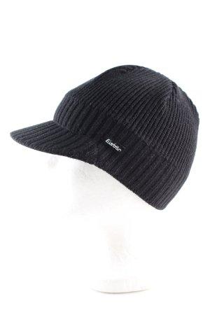 Eisbär Cappello a maglia nero stile casual