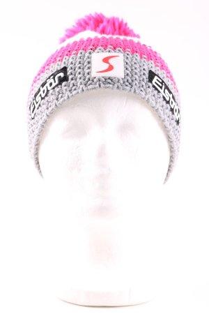 Eisbär Sombrero de punto estampado a rayas look casual