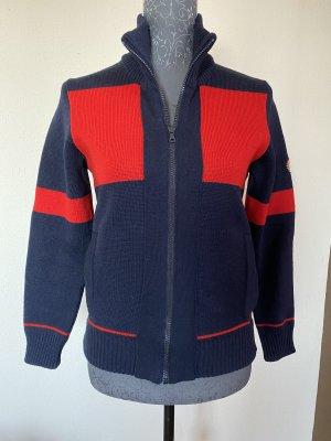 Eisbär Knitted Vest red-dark blue