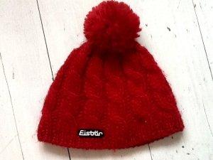 Eisbär Sombrero de punto rojo