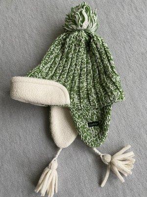 Eisbär Knitted Hat white-green