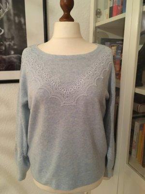 eisblauer Pullover Promod