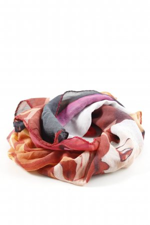 Foulard motif abstrait style décontracté