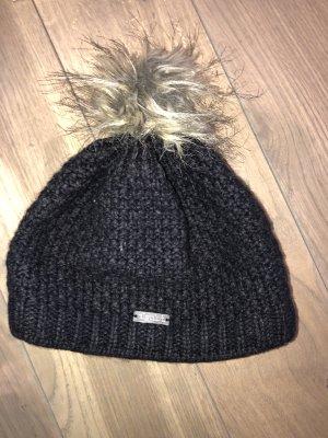 Eisglut Chapeau en tissu taupe