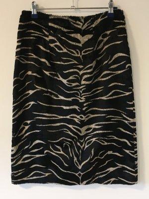 Anderne Midi Skirt black-white