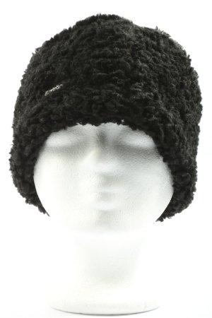 Eistär Cappello in tessuto nero stile casual