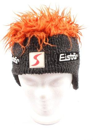 Eistär Knitted Hat black-light orange casual look