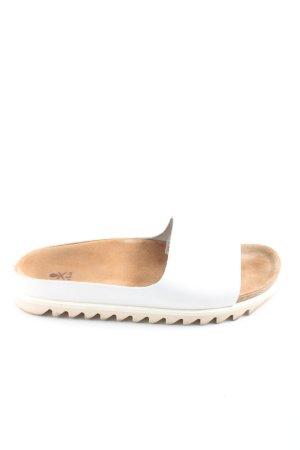 ekn Footwear Comfort Sandals white-nude casual look