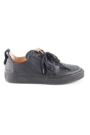 ekn Footwear Schnürsneaker schwarz Casual-Look