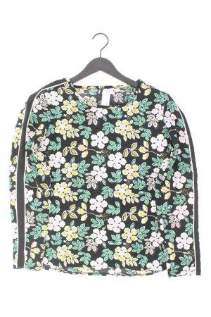 eksept Bluse mit Blumenmuster schwarz Größe M