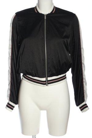 Eksept Bomber Jacket black-white casual look