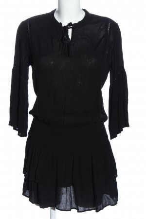 Eksept Blusenkleid schwarz Casual-Look